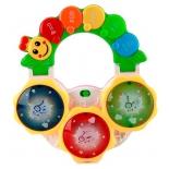 игрушка для малыша Музыкальная Гусеница Умка (обучающая) свет и звук (B1295011-R)