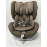 автокресло детское Torego JM05 IsoFix 0-1-2 (0-25 кг), коричневое/лен
