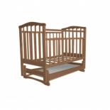 детская кроватка Агат Золушка-4 Орех