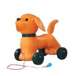 каталка Огонек, собака Шарик (С-1353) качает головой