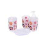 набор аксессуаров для ванной комнаты Rosenberg RPL-350014 (4 предмета)
