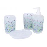 набор аксессуаров для ванной комнаты Rosenberg RPL-350012 (4 предмета)
