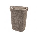 корзина для белья Curver 03676-X59-00 Knit (57л) темно-коричневая