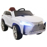 электромобиль RiverToys Lexus E111KX, белый