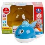 игрушка для купания Умка Веселый кит на батарейках