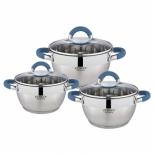 набор посуды для готовки Zeidan Z-50619, 6 предметов