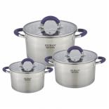 набор посуды для готовки Zeidan Z-50630, 6 предметов