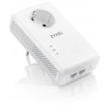 PowerLine-адаптер комплект Zyxel HomePlug AV2 PLA5456 (2 адаптера), белые