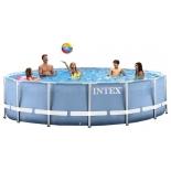 бассейн каркасный Intex Prism Frame 366х99 см, круглый (28718)