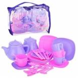 игрушки для девочек Набор посуды Совтехстром Мальвина У535 (28 предметов)