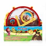 музыкальная игрушка Набор инструментов Играем вместе Маша и Медведь B226345-R2