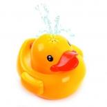 игрушка для купания с фонтаном Жирафики Утенок со светом и звуками