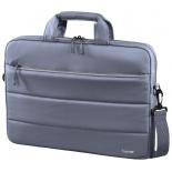 сумка для ноутбука Hama Toronto Notebook Bag 13.3, серая/голубая