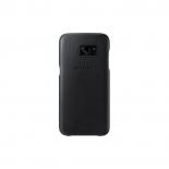 чехол для смартфона Samsung для Samsung Galaxy S7 edge Leather Cover, черный