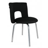 компьютерное кресло Бюрократ KF-1/BLACK26-28, черное