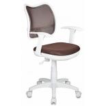 компьютерное кресло Бюрократ CH-W797/BR/TW-14C, коричневое