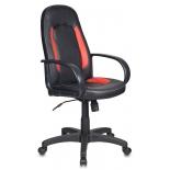 компьютерное кресло Бюрократ(CH-826/B+R)красный,черный