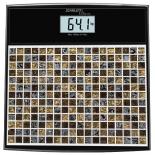 Напольные весы Scarlett SC-BS33E066, черные/рисунок