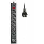 сетевой фильтр Buro(BU-SP1.8_USB_2A-B)черный