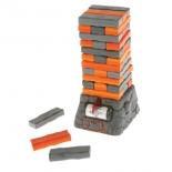настольная игра Hasbro Games Дженга Квейк, оранжевый / серый
