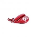 проводной телефон Вектор ST-207/03, бордовый
