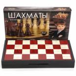 настольная игра Играем вместе 4-в-1 (шахматы, шашки, нарды, карты)