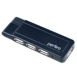 USB-концентратор Perfeo PF-VI-H021, черный