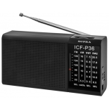 радиоприемник SUPRA ST-12, черный