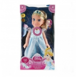 кукла Карапуз Принцесса Золушка 37 см CIND001 (амулет светится)