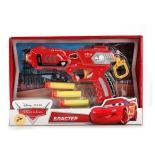 оружие игрушечное Бластер Играем вместе Тачки с мягкими патронами