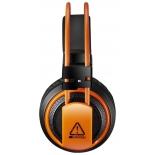 гарнитура для ПК Canyon CND-SGHS5, черно-оранжевая