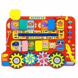 игрушка для малыша Бизиборд Алатойс Автобус (ББ119)