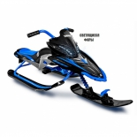 снегокат Yamaha Apex Snow Bike with LED, синий