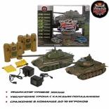 радиоуправляемая модель Танковый бой Пламенный мотор 1:24 T-34 СССР Germany King Tiger Германия (870164)
