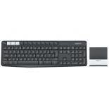 клавиатура Logitech K375s ( 920-008184) темно-серая