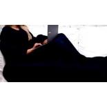 плед Одеяло-плед с рукавами Snuggle (Снагги), черное
