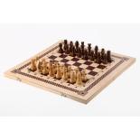 настольная игра Орловская ладья игра три в одном шахматы, шашки, нарды