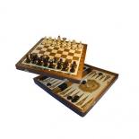 шахматы Madon 3 в 1 Кинг 34 шахматы,  шашки, нарды