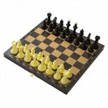 шахматы Владспортпром Шахматы + Шашки Айвенго с деревянной доской