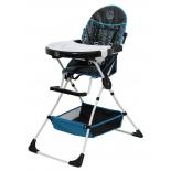 стульчик для кормления  Polini kids Disney baby 252 Микки Маус, черный