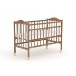детская кроватка Фея 203 табачный дуб