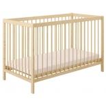 детская кроватка Polini kids Simple 101, натуральный