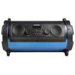 музыкальный центр Hyundai H-MC200, черный/синий