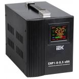 Стабилизатор напряжения IEK Home СНР1-0-0.5 кВА (релейный)
