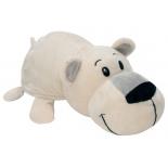 игрушка мягкая 1Toy Вывернушка Хаски-Полярный медведь 20 см (пакет)
