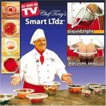 крышка для посуды Smart Lidz, вакуумные (4шт)