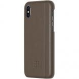 чехол iphone Moleskine IPHXXX для iPhone X, коричневый