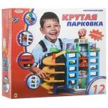 игрушки для мальчиков Играем Вместе, Гараж  6 уровней с машинками и аксессуарами (B57301-R)