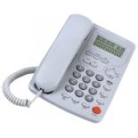 проводной телефон Вектор 801/02, серый