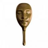 аксессуар для настольной игры Маска для мафии Нескучные игры пластиковая, золотая